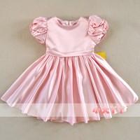 Children's clothing female child autumn 2014 child princess dress female flower girl dress wedding dress flower girl puff dress