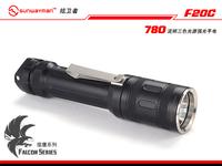 Sunwayman f20c 780lumen falcon series three-color light source flashlight 18650