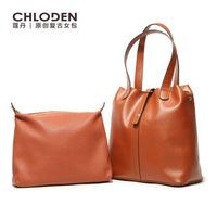 Koudan same paragraph handbags 2014 new leather Ladies Fashionable retro portable shoulder bag wholesale bucket Picture
