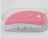 free shipping 2014 newest fashionable - wireless mouse and mice 2.4G receiver, super slim mouse