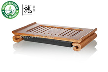 Scholar * Bamboo Gongfu Tea Table Serving Tray 38*22cm(China (Mainland))