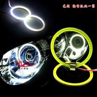 2x 80MM DC9-18V COB LED Angel Eyes ring / Halo Ring Halo Light 80MM LED ANGEL EYES KIT waterproof White