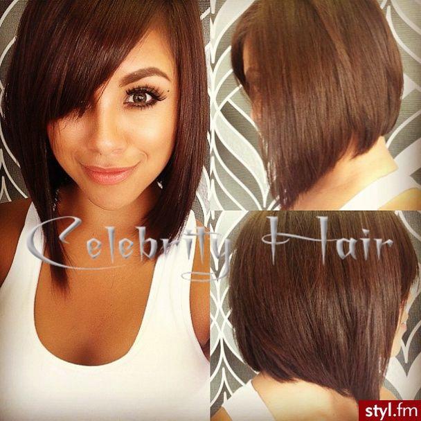 Grau 5a 100% perucas humanos virgem brasileira peruca de cabelo humano lindo cabelo curto bob com franja e linha fina natural(China (Mainland))