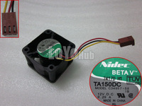 Free shipping For Nidec 4028 C34957-58 12V 0.29A 3-wire ball bearing cooling fan