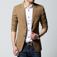 Men's clothing outerwear slim male suit  spring and autumn male  commercial  clothing suit thin  men's blazer blaser