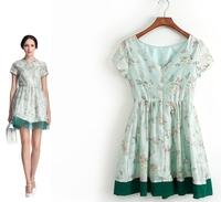 Women's spring fashion 2014 goldenbarr z one-piece dress