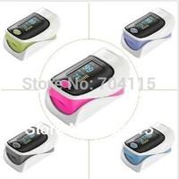 Hot Selling Health Care FDA CE OLED display Fingertip Pulse Oximeter Blood Oxygen Monitor