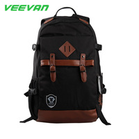 VEEVAN New Arrival 2014 Small Rucksack Canvas Backpack Women Kids Backpack Children School Bags Causal Cackpacks