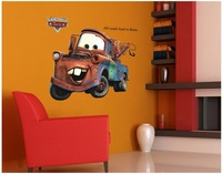 "86x65cm (34""x26"") AY9007 Cars Wall Mural Stickers for Bedrooms Large DIY Home Decoration Kid Quality SGS Removable PVC Mixable"