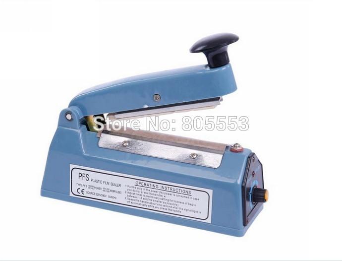 Free Shipping New Heat Sealing Machine Impulse Sealer Sealing Machine Poly Tubing Plastic Bag Kit(China (Mainland))