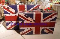 Studio props props national flag suitcase