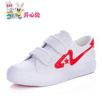 2014 child classic shoes large children velcro canvas shoes male female child