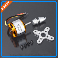 Free shipping 4pcs/lot NEW A2212 brushless motor 2200KV 6T for RC aircraft Plane Multi-copter Brushless Outrunner Motor