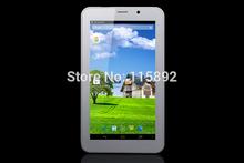 5pcs NEW 7 inch 3G Phone call tablet MTK8312 dual core 1024 x 600 Android 4.2 512M 4GB GPS BLUETOOTH GSM WCDMA 3g sim card slot