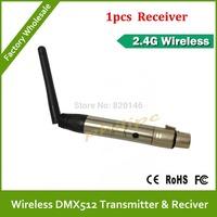 2 .4G wireless transfer DMX512 1PCS Receiver