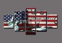 New York Liberty statue, grande HD Canvas pintura de impressão, arte presente imagem(China (Mainland))