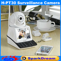 Mobile Phone Network Security Wifi Mini IP Camera Wireless Local and Remote Video Chatting + Wireless Alarm + Remote Monitor