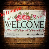 [ Do it ] Metal sign Wholesale Vintage Craft Pub Bar Plaque Wall painting PUB Decor 20*30 CM AB-54
