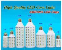 High Brightness Free Shipping SMD led corn light 5W 7W 12W 15W 20W 25W 30W LED Corn Light AC 220V White E27 2 years warranty
