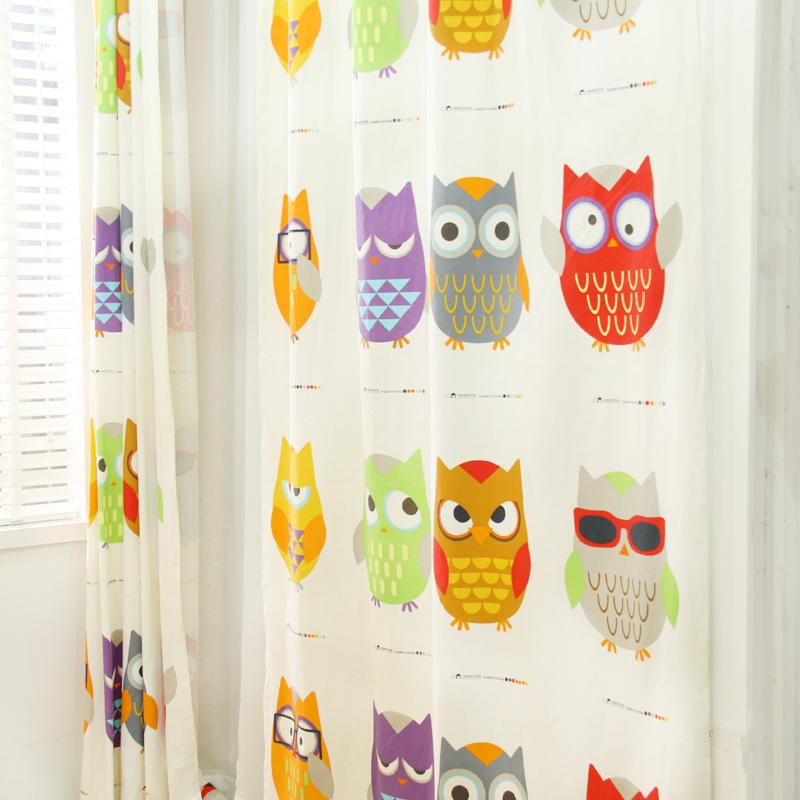 tende owls gufi : Online ragazzi tende camera da letto da Grossisti ragazzi tende ...