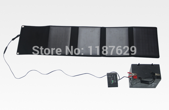 18V*2200mAH high efficiency 40W foldable solar panel manufacturer(China (Mainland))