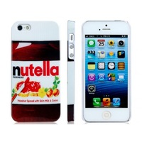 Free Shipping 1PCS,Nutella Hard Back Cover Case Skin For iphone 4/4S 5/5S