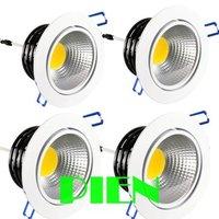 LED COB Ceiling Light 3W/5W/7W/15W LED Down Light Cool White|Warm White 85V-265V Free shipping 2pcs/lot