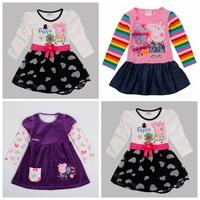 Peppa pig dress,Pepa pig,Brand nova,new 2014,kids clothes,baby wear,bebe,peppa pig clothing,baby girl clothes,princess dress,