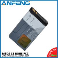 New 3.7V 1020mAh Li-ion Battery BL-5C Battery for Nokia 2310 3100 6030 6230 3120 Free Shipping