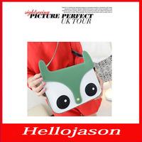 8048 Free shipping hot Women Ladies Retro Shoulder Bag Fashion Messenger Bags School Tote Owl Fox PU Handbag