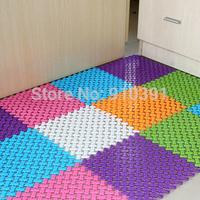 25*25CM,Candy Color Foot DIY Splice bath mat massage foot mat for stitching anti slip shower mat as floor decoration accessory.