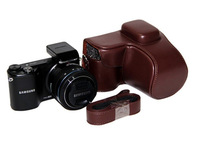 NX2000 Camera Case Bag Special for Samsung NX2000 Brown Color free shipping