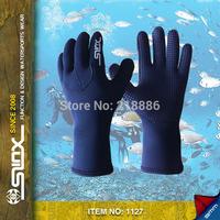Slinx 1127 Neoprene 3mm Scuba Diving Gloves Anti-Scratch Surfing Skid Sports Gloves Wetsuit Waterproof Winter Swimming