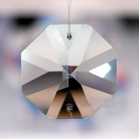 FREE SHIPPING +AAA Quality Guaranteed 14mm Octagon Crystal Beads in 2 hole, 6000pcs/lot BIG DISCOUNT