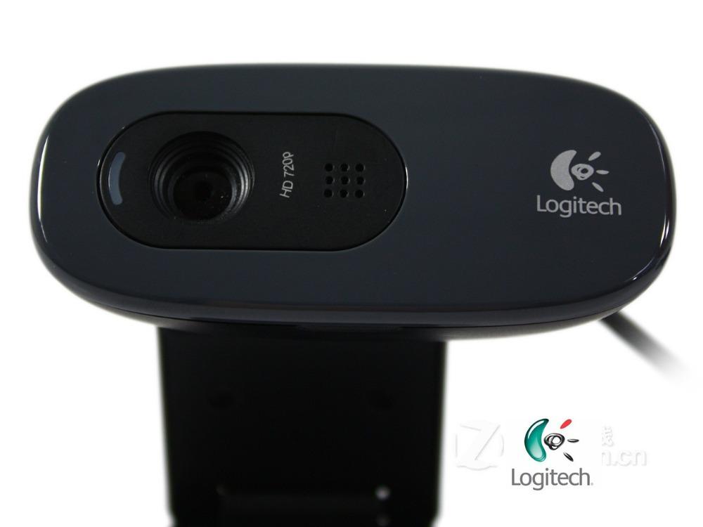 Logitech C270 Webcam USB 720P Web Cam Web camera For PC&Laptop&Tablet HD Black Free shipping(China (Mainland))