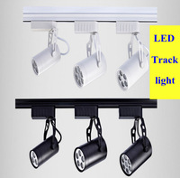 LED Track spotlight 3W 5W 7W 9W clothing store led track spotlight track lighting background spotlight 2 years warranty