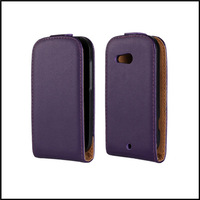 For HTC Desire C A320e phone Real leather flip case cover with 11 colors  +  free shipping