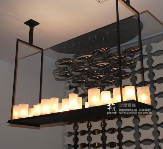 Kevin reillyaltar belt led pendant lamp indoor lighting french style ...