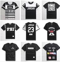 hiphop t-shirt Men Short-sleeve Summer Personalized Lovers short-sleeve Skateboard Hip hop Punk rock harajuku