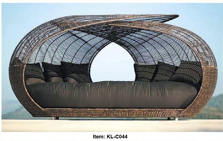 Achetez en gros lit patio ext rieur en ligne des - Gros coussin de jardin ...