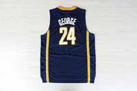 Fast Free Shipping, Cheap Basketball Jersey Embroidery Logos Paul George #24 Basketball Jerseys