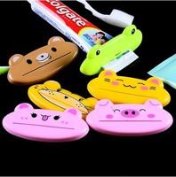 Four pcs Extruder  home supplies high quality flatworm cartoon toothpaste squeezer