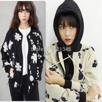 women's embroidery flower fluid short jacket female spring and autumn thin vintage cardigan jacket baseball uniform