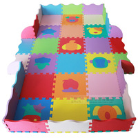 PLAY mats eco-friendly creepiness child cushion sub eva foam thickening baby play mat 120x180