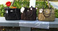 FREE SHIPPING 100% ORIGINAL high quality carter diaper bags khaki mummy bags black carter baby bag nylon brown mummy handbags