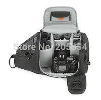 Free ship New Lowepro SlingShot 200 AW Digital SLR DSLR Photo Travel Camera Carry Shoulder Backpack/Bag with raincover for nikon