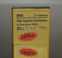 1Pcs/Lot I9000 battery EB575152VU 3.7V 2430mAh high capacity Gold Free Shipping