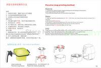 3D sublimation 11oz heterosexual mug clamp for ST-1520 C2 version