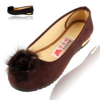 Cotton-made beijing shoes Women fashion casual shoes spring and autumn single shoes women's shoes low flat heel gentlewomen