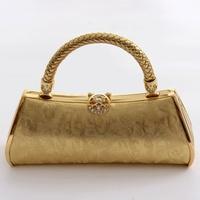Evening bag handbag dj package ktv princess bag work uniforms bags 783 pure gold